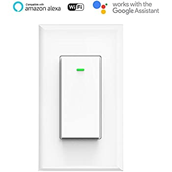 Smart Wifi Light Switch No Hub Required Phone Remote