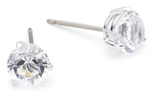 261c26474 Swarovski Solitaire Clear Crystal Stud Earrings 1800046: Amazon.co.uk:  Jewellery