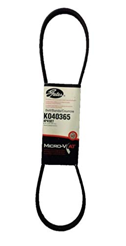 - Gates K040365 Multi V-Groove Belt