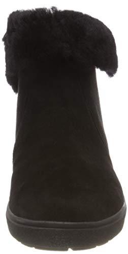 40 Suede et Souples Comb Noir Bottes Caprice Blk Bottines 26402 Femme ZAv7qwa