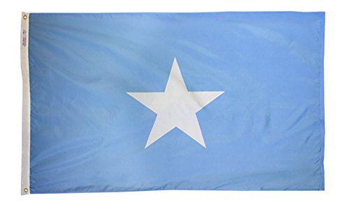 Annin Flagmakers Model 197464 Somalia Flag 3x5 ft. Nylon Sol