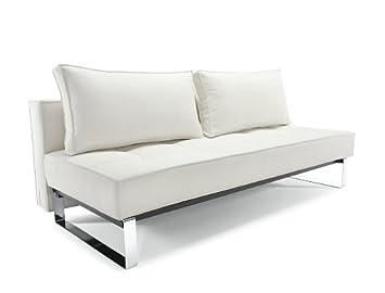 Divan Lit Design : Canapé lit design innovation supreme deluxe blanc amazon