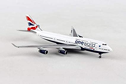 Is 747 A Good Credit Score >> Amazon Com Herpa Wings 531924 British Airways Boeing 747