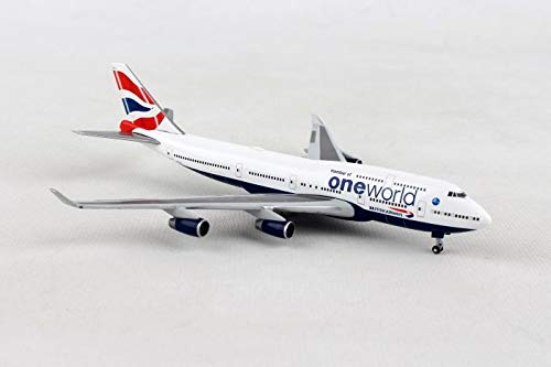 Herpa Wings 531924 British Airways Boeing 747-400