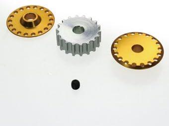 イーグル模型 TT02FRD用3rdドライブプーリー17T 4mm穴(GO) #TT02FRD21-17-GO