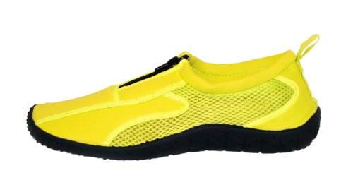 Shoes Yellow Aqua Womens Water Rubber Rockin Neon Rockin Footwear Footwear wUg1qTPPS