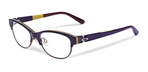 Oakley Womens Oph. Throwback (52) Eyeglass, Dark Purple