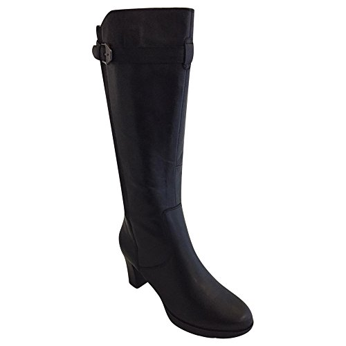 Tamaris 25611, WoMen Cold Lined Classic Boots Half Length Black