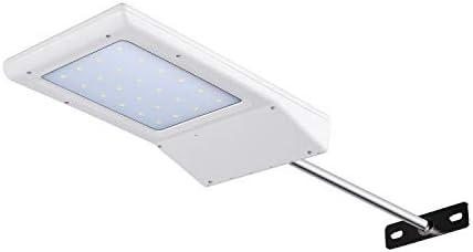 Betorcy Solar Outdoor Lights Motion Sensor Solar Street Light Dusk to Dawn IP65 Waterproof Solar Wall Lights 210LM 6500K Daylight White for Backyard Outside Yard