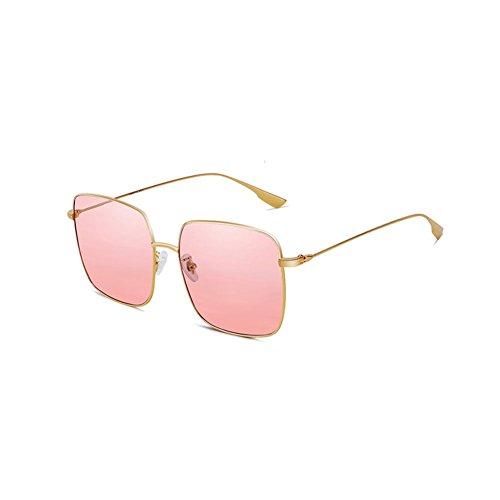 Color la Moda de de de UV polarizadas Sol 2 Sol Protección de Mujeres Gafas de Las Alrededor Gafas DT qfHT6q