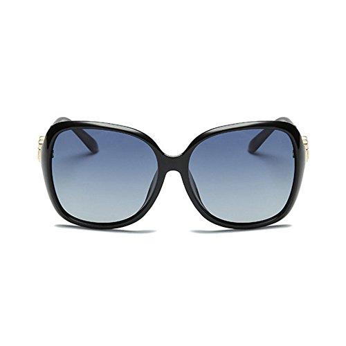 Aoligei Ceinture de type fleur foret pilote de lunettes de soleil polarisant lunettes de soleil lunettes de grande dame A