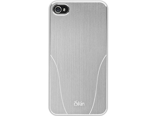 iSkin ARIPH4-WH3 Aura Hybrid Case for iPhone 4 & 4S  - 1 Pack - Retail Packaging - White ()