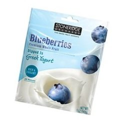 Stoneridge Orchard Blueberries Dipped in Greek Yogurt (6x5 OZ)