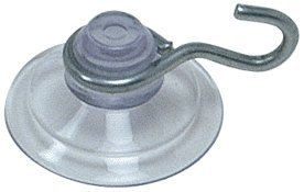 "CRL 3/4"" Mini Suction Cups With Metal Hooks by CR Laurence"