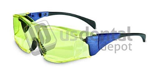 ADS- Glasses Uvex Eyewear amber - tinted pair - # G599-2 [ protection lens lentes anteojos de proteccion ] 118169 Us Dental Depot