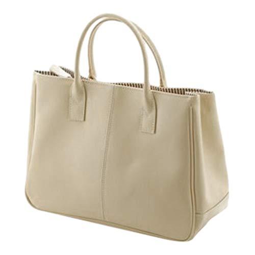 Blu Ray Lip Gloss - Leather Handbags for Women Top Handle Handbags Large Capacity Cosmetic Travel Bag Waterproof Tote Bags Purse (Yellow)