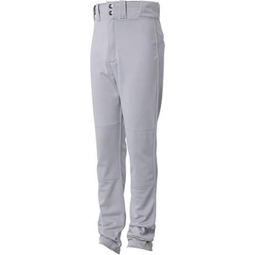 Wilson Youth Pro T3 Relaxed Fit Baseball Pant, Grey, Medium