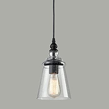Axiland Industrial 1Light Mini Pendant Light Adjustable with