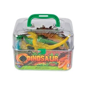 Adventure Planet Dinosaur Set with Carrying Case, 20-Piece - 31OTF49WSyL - Adventure Planet Dinosaur Set with Carrying Case, 20-Piece