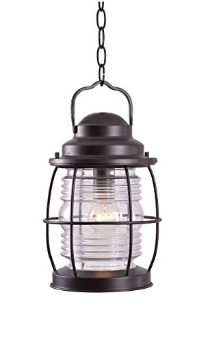 Kenroy Home 90955GC  Beacon Hanging Lantern, Blackened Gilded Copper Finish