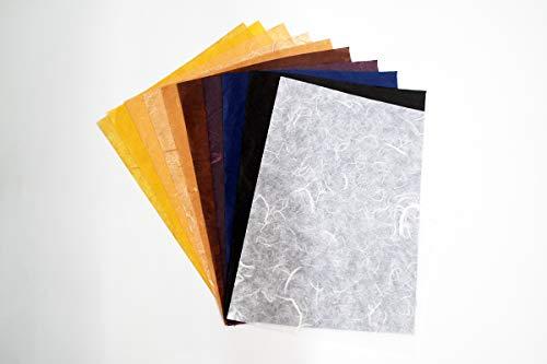 65 Sheets 8 5 x 11 Inch Designs Mulberry Handmade Paper Sheet Craft Hand  Made Sheet Art Tissue Paper Design Origami Sheet Japanese Paper