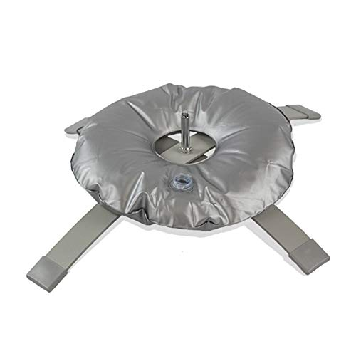 Vispronet Feather Flag 31in x 31in Cross Base - Includes a 10lb Cross Base with a .65in Diameter, and a 2 Gallon Weight Bag - Base Only