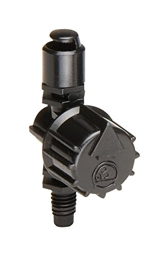 Rain Bird MSH2PKS Drip Irrigation 10-32 Threaded Micro-Spray Nozzle, 180° Half Circle Pattern, 0 - 10.5' Spray Distance, 2-Pack ()