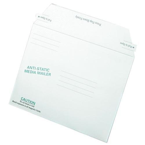 Quality ParkTM Antistatic Fiberboard Disk CD/DVD Mailer MAILER,6X8-5/8,DISK,WE (Pack of5)