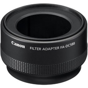 canon FA-DC58B Filter Adapter for Canon G12 Digital for sale  Delivered anywhere in USA