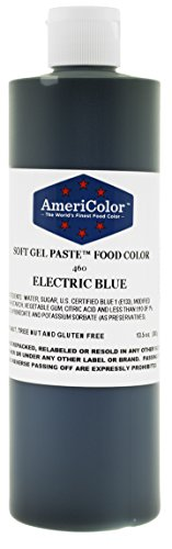 ELECTRIC BLUE 13.5 Ounce Soft Gel Paste Food Color by AmeriColor