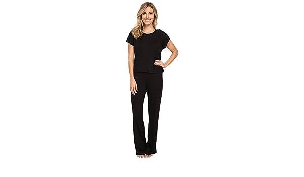 Betsey Johnson mujer Draped Back Juego de pijama - negro -: Amazon.es: Ropa y accesorios