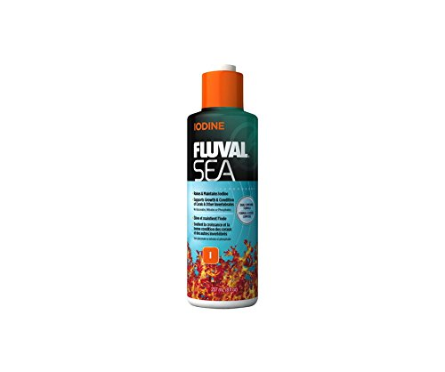Marine Concentrated Iodine (Fluval Sea Iodine for Aquarium, 8-Ounce)