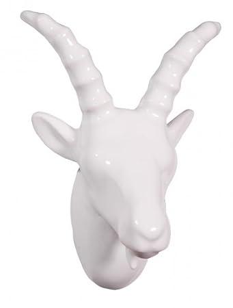 Black 9 x 7.6 x 6.3 cm Capventure Billy Goat Coat Hook BK