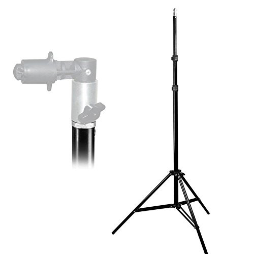 LimoStudio 86'' Photo Video Studio Aluminum Adjustable Light Stand Heavy Duty Tripod, AGG2344 by LimoStudio