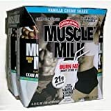 Muscle Milk Nutritional Shake, Chocolate, 4 ct. from CytoSport, Inc.