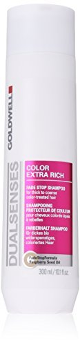 Goldwell Dualsenses Color Extra Rich Fade Stop Shampoo for Unisex, 10.1 Ounce by ()