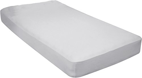 - Gilbin 100% Jersey Knit Cotton Fitted Cot Sheet For Camp Cot Mattresses 30