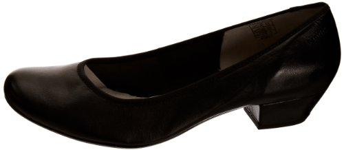 1 22 Zapatos cara 1 Tacón 20 403 22 Negro Mujer 100 100 De Para 20 100 Cuero Shoes schwarz Marc 403 black z7qwCz0