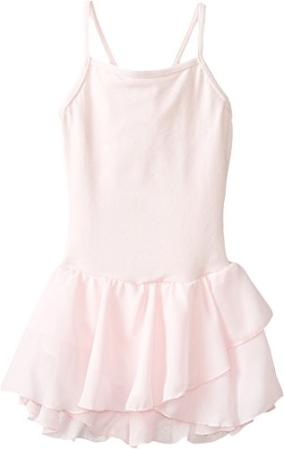 Capezio Dress - Capezio Little Girls' Camisole Cotton Dress,Pink,I ( 6-8)