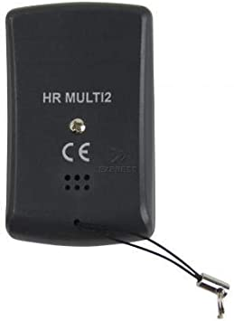 T/él/écommande universelle multifr/équence HR Multiti 2 compatible pour fr/équences de 433 MHz /à 868 MHz Code fixe et variable Capable dunifier 4 t/él/écommandes distinctes en 1