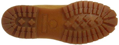 Timberland 6-Inch Premium, Herren Halbschaft Stiefel, Gelb (Wheat Nubuck), 43 EU (9 M US)