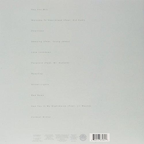 808s & Heartbreak [2 LP and 1 CD] [Vinyl] by VINYL (Image #1)