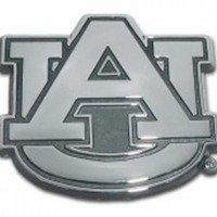 Decal Auto Tigers - Elektroplate University of Auburn (AU) Emblem