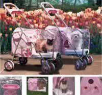KITTY WALK 024KW-PS-PINK Kittywalk Pet Stroller Pink by Kittywalk