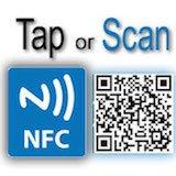 Like Us on Facebook Sticker - Social Media QR Code