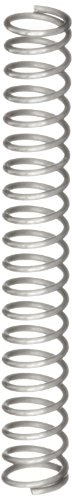 Compression Spring, Stainless Steel, Metric, 1.8 mm OD, 0.2 mm Wire Size, 5.31 mm Compressed Length, 13.3 mm Free Length, 1.51 N Load Capacity, 0.19 N/mm Spring Rate (Pack of 10) by Small Parts