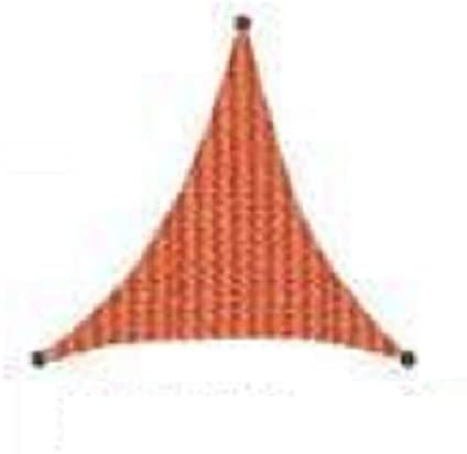 San Diego Sail Shades 14'x14'x14' Triangle Terracotta Rust Heavy Duty Commercial Grade Shade Sail