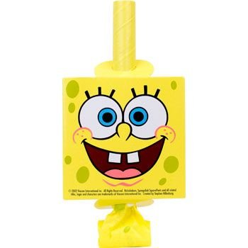 Spongebob Party Blowers (8-pack)