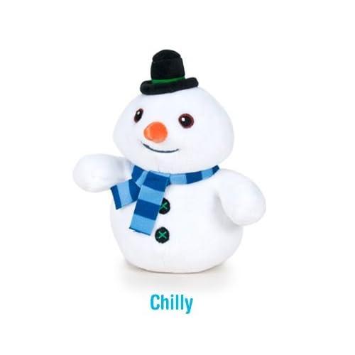 DOC Docteur La Peluche - Peluche Chocotte, le bonhomme de neige 17cm Qualité super soft