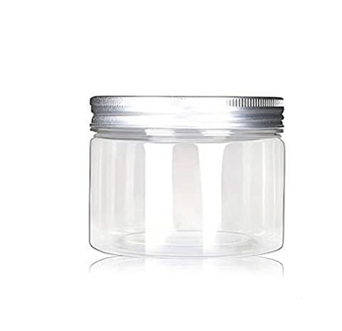 120ml/4 Oz Jars PET Plastic Empty Cosmetic Containers Cases with